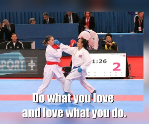 karate, martial arts, and sport image
