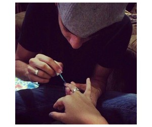 nails, cute, and boyfriend image