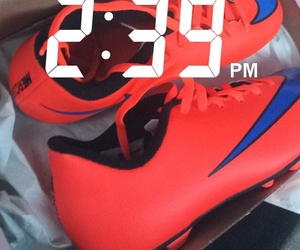 cleats and soccer image