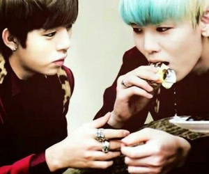 zelo, daehyun, and b.a.p image
