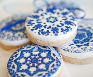 Cookies, blue, and sweet image