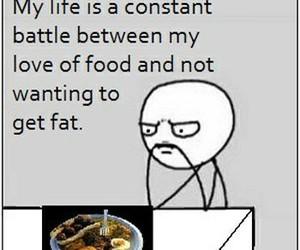 food, funny, and life image