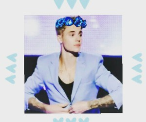 blue, icon, and justin bieber image