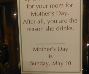 funny, wine, and mom image