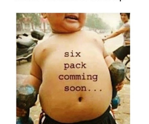 boy, six pack, and comedy image