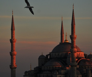 architecture, mosque, and ottoman image