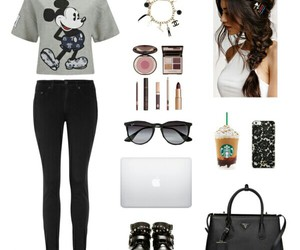 black, fashion, and mickey image