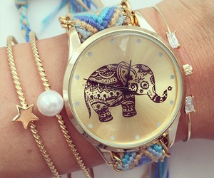 bracelets, style, and watch image
