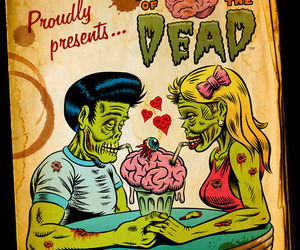 zombies, brain, and zombie image