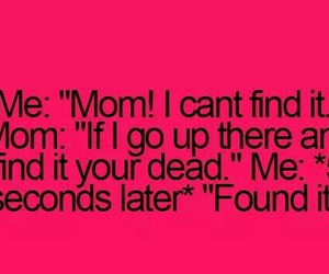 funny, mom, and teenager post image