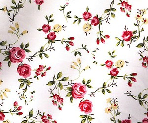 floral, rose, and wallpaper image