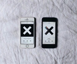 music, iphone, and the xx image