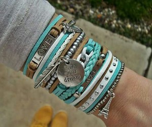 accessories, beutiful, and blue image