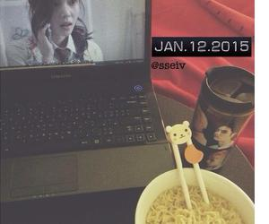 cute stuff, eating, and exo image