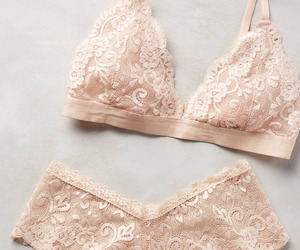lingerie, beautiful, and bra image