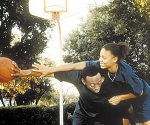sanaa lathan, omar epps, and love & basketball ! image