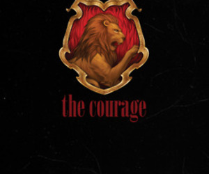 brave, bravery, and gryffindor image