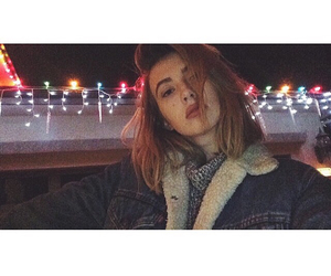 cold, girl, and jacket image
