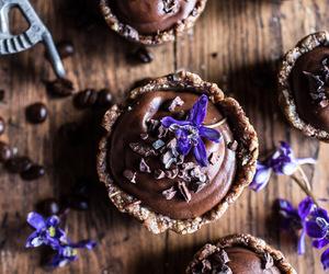 chocolate, vegan, and dessert image