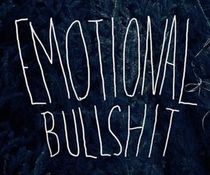 angry, emotional, and bullshit image