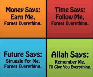 allah, islam, and money image