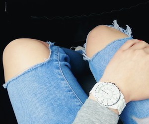 blue, jeans, and legs image