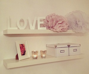 love, bedroom, and design image