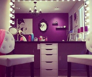room, beauty, and makeup image