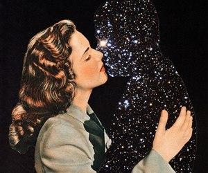 kiss, stars, and art image