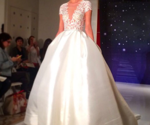Couture, Vera Wang, and wedding dress image