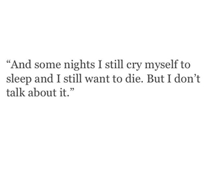 quotes, cry, and depression image