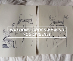 quote, drawing, and grunge image