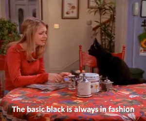 black, sabrina the teenage witch, and grunge image