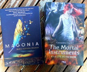books, the mortal instruments, and magonia image