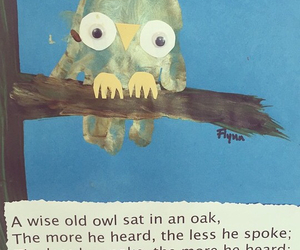 wise, owl, and quotes image