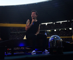 one direction, brussels, and louis image