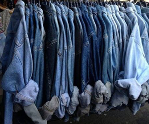 blue, jeans, and grunge image