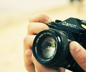 camera, cute, and hands image