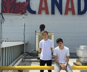 hayes grier, jack johnson, and magcon image