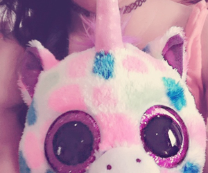 arcoiris, big eyes, and Peluches image