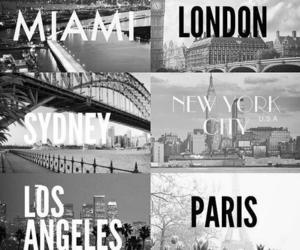 Miami, london, and paris image