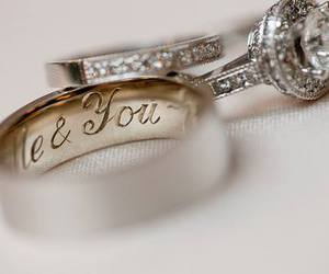 wedding, rings, and ring image