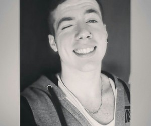black & white, youtuber, and black and white image