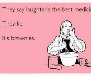 brownies, card, and funny image
