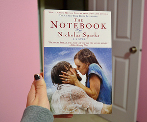 book, the notebook, and love image