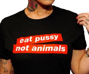 act, pussy, and vegetarian image