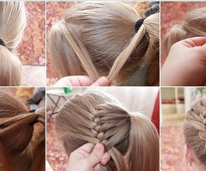 blonde, different, and braid image