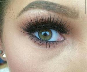beautiful, eyebrow, and eyes image