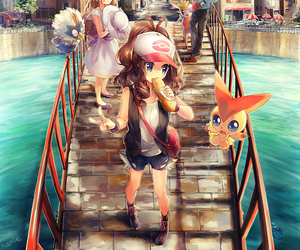 pokemon, victini, and anime image