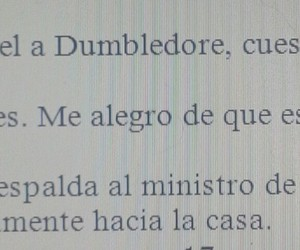 dumbledore, fragmentos, and harry potter image